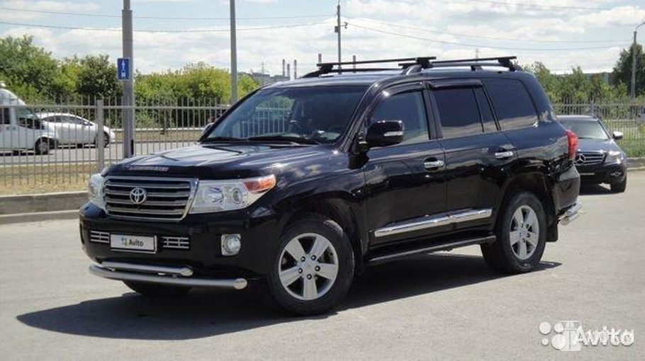 Продажа б/у Toyota Land Cruiser (Тойота Лэнд Крузер) 4.5d AT 4x4 2012 в Тюмени за 2880000 Р
